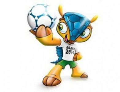 Fuleco è la mascotte dei Mondiali Brasile 2014