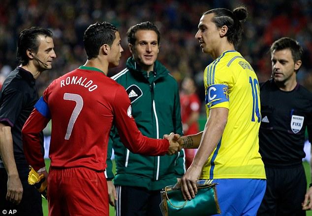 Champions League: Rischio stop per Ibrahimovic e per Ronaldo