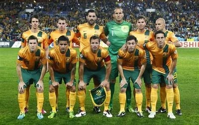 Mondiali 2014: Australia prima ad arrivare in Brasile