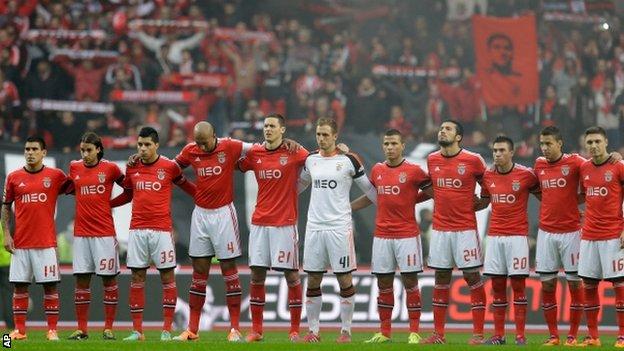 Europa League: Benfica e maledizione finali, ko nelle ultime 7