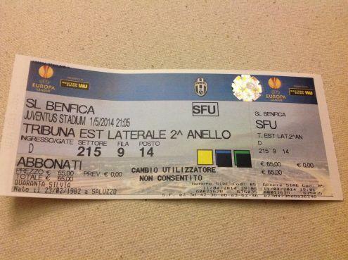 Biglietti per finale Europa League a Lisbona