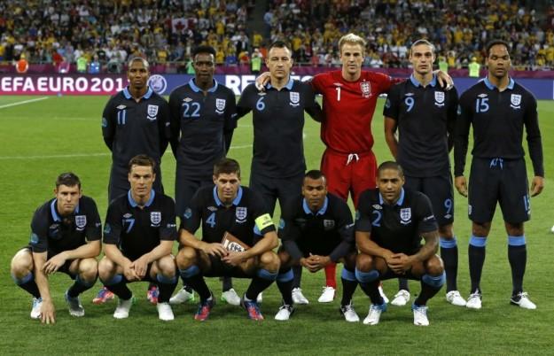 Mondiali 2014: La rosa dell'Inghilterra
