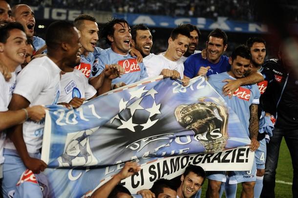 Champions League: Napoli sarà testa di serie ai preliminari