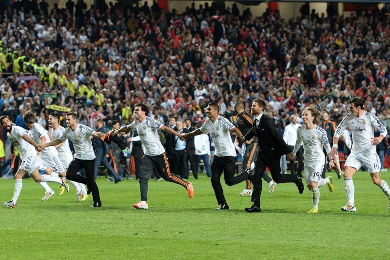 Festa tifosi Real Madrid per la vittoria della Champions League