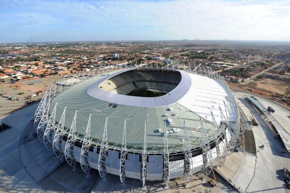 Stadi per Mondiali 2014 di Brasile pronti solo in extremis
