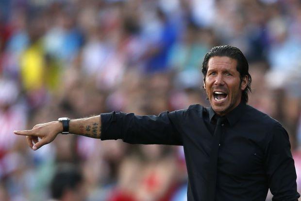 Simeone si gode il sogno Champions League