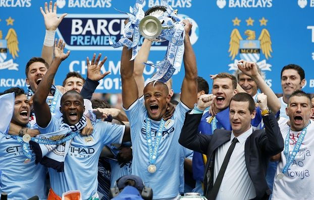 Manchester City campione d'Inghilterra