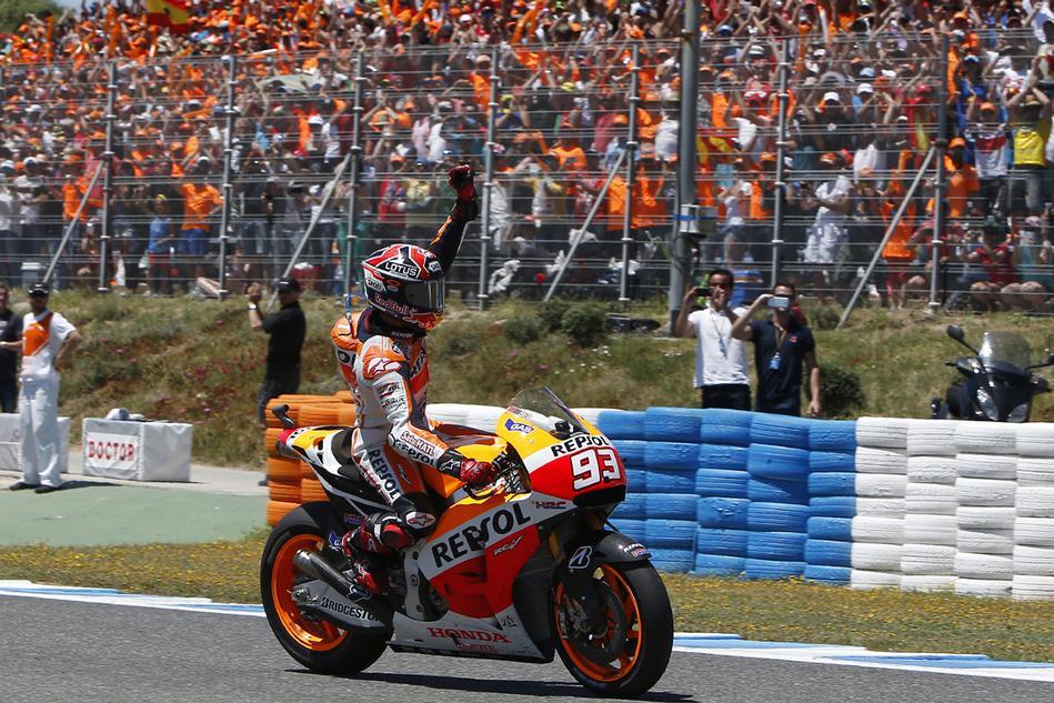Marquez fa cinquina sul circuito di Le Mans