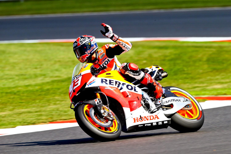 Marquez rinnova con la HRC fino al 2016
