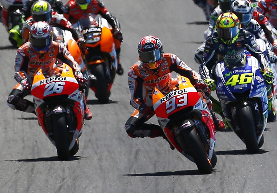 Marquez domina anche a Jerez