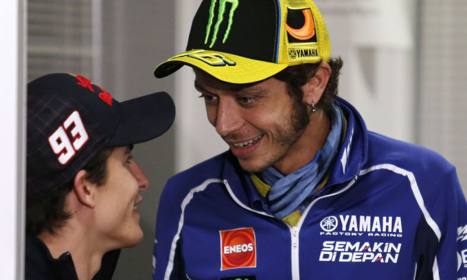 Rossi ammette che Marquez fa la differenza in pista
