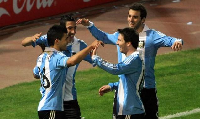 Mondiali 2014, allenamento mattutino Argentina