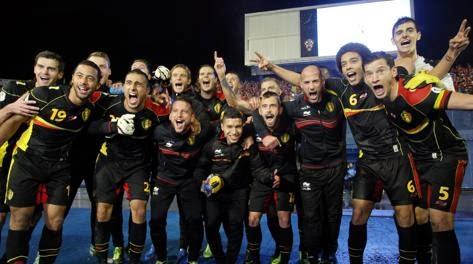 Belgio programma la sua 'Golden Generation'