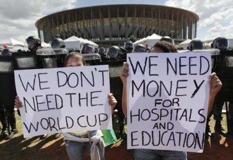 Mondiali 2014: perchè i brasiliani protestano