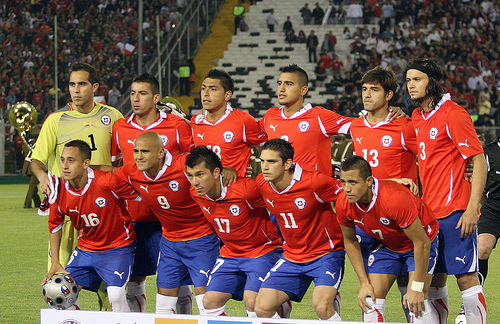 23 convocati Cile da Sampaoli per i Mondiali 2014 di Brasile