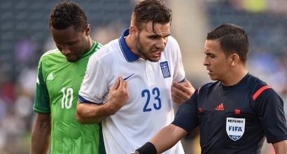Gruppo C,  amichevole: Grecia – Nigeria 0 – 0