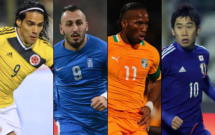Mondiali 2014, Gruppo C: le favorite dei bookmaker