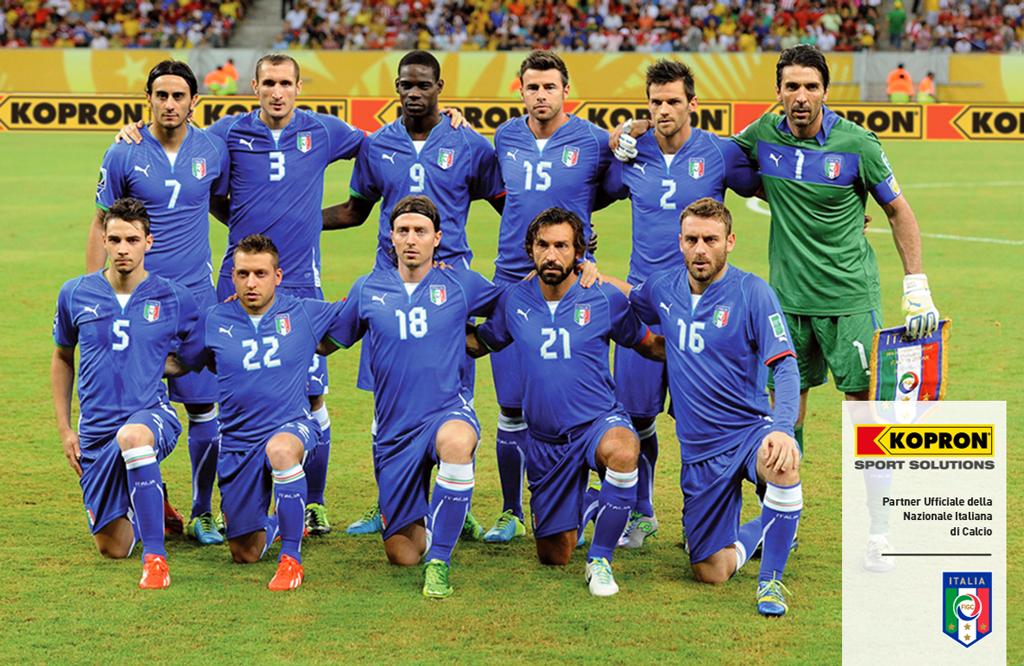 La Nazionale italiana usa le coperture Kopron in Brasile