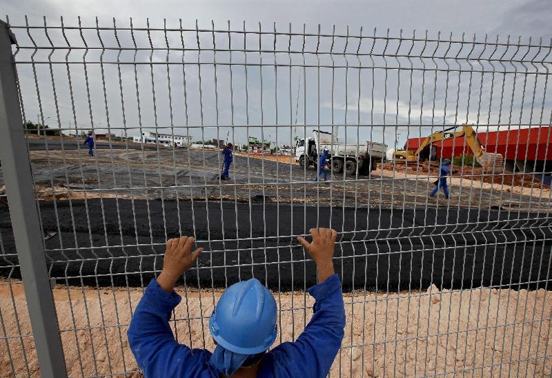 Nazionale Italiana, sfida con Inghilterra: allarme stadio, Manaus ancora cantiere