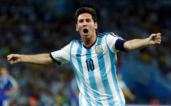 Mondiali 2014: Messi salva l'Argentina al 93 minuto