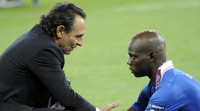 Italia, Prandelli ieri stava sostituendo Balotelli con Immobile