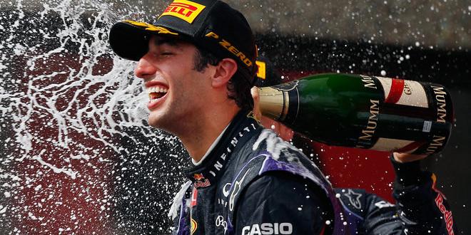 Formula 1: Ricciardo non crede ai suoi occhi