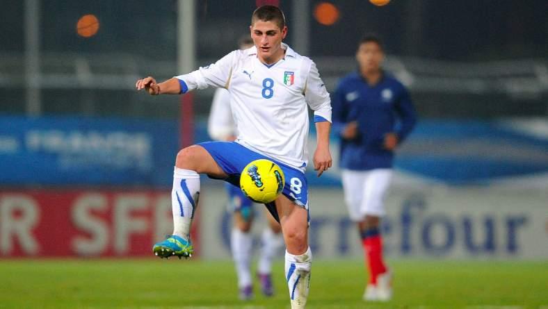 Verratti c'è: allenamento esercizi possesso palla per i Mondiali 2014