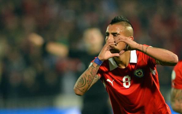 Infortunati Cile Mondiali 2014: Vidal non si allena