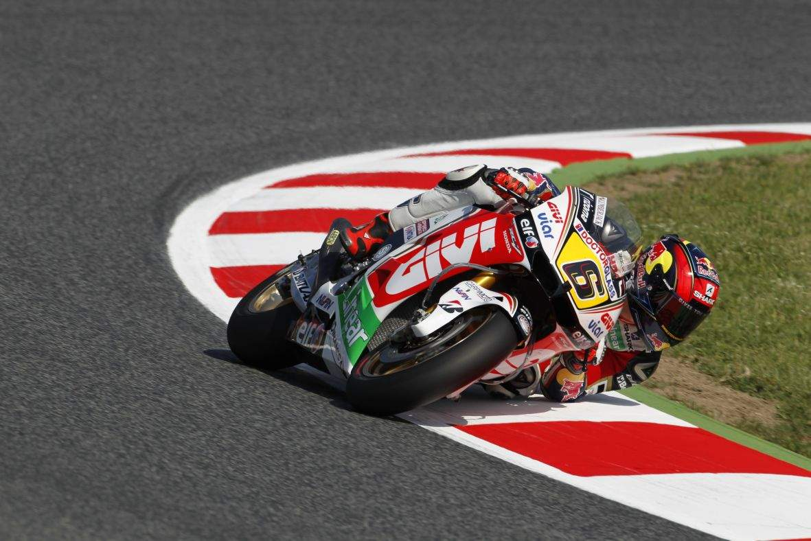 Bradl beffa Marquez nelle prove libere di Catalunya