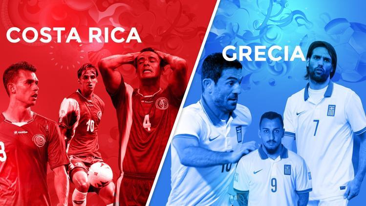 Brasile 2014, Costa Rica-Grecia: sfida per la storia