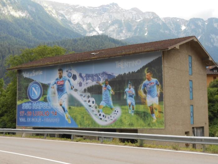 Serie A: presentato il ritiro del Napoli