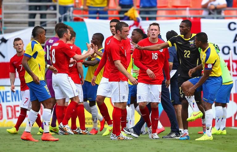 Inghilterra pareggia 2-2 con l'Ecuador