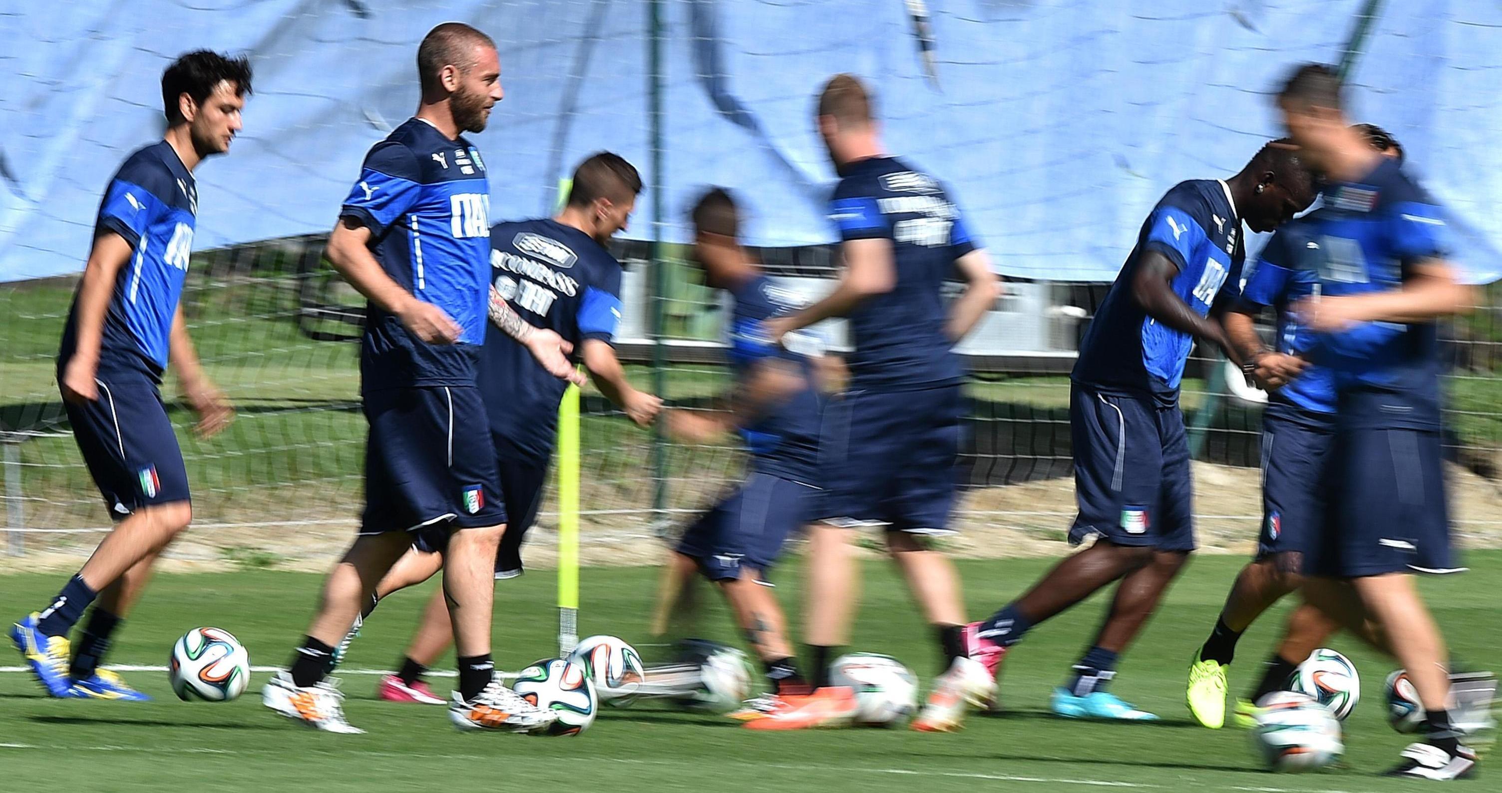 Italia ultimo allenamento a Racife