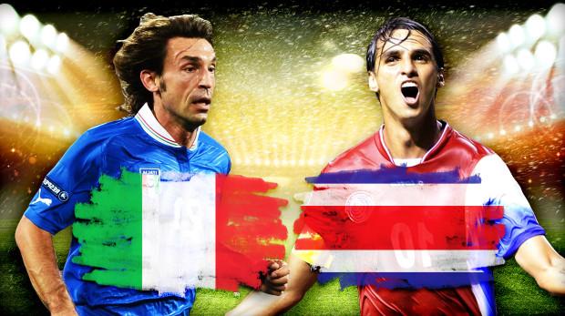 Italia Costa Rica: Prandelli e Pinto a confronto