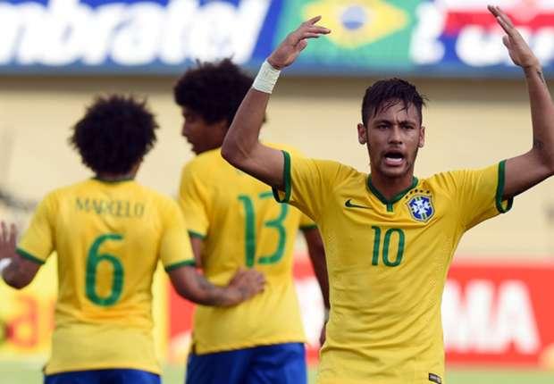 Brasile distrugge Panama 4-0 con Neymar, Dani Alves, Hulk e Willian