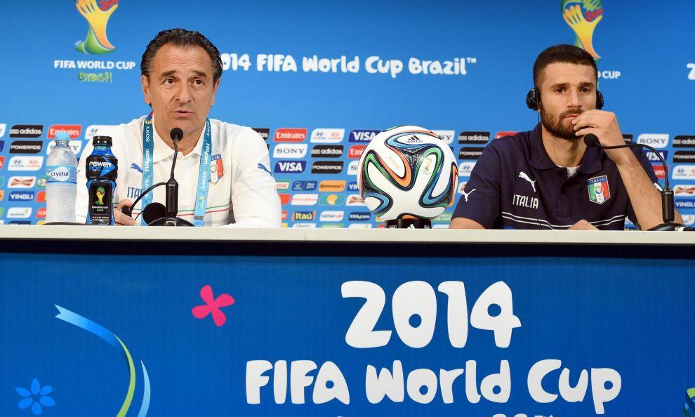 Prandelli e Candreva avvisano gli inglesi: Italia determinata a vincere