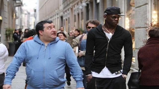 Italia: Raiola protegge Balotelli dalle critiche