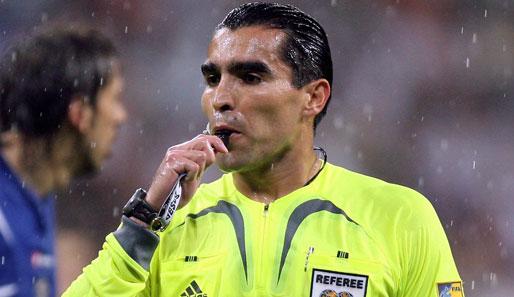 Italia-Uruguay: arbitra Rodriguez detto Dracula