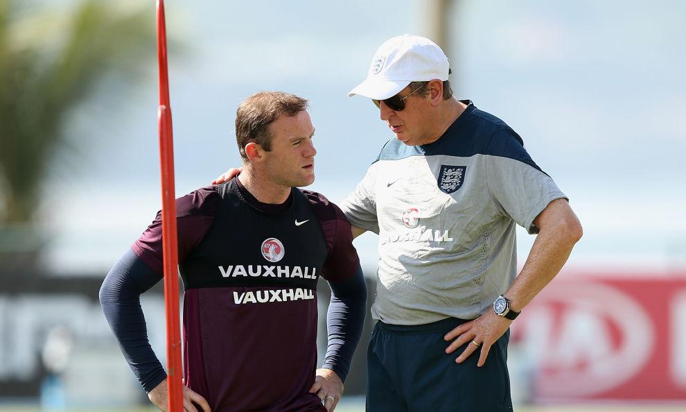 Inghilterra: Rooney potrebbe sedersi in panchina