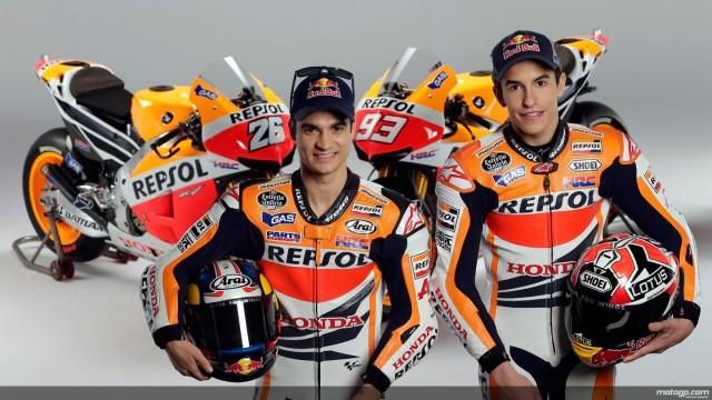 Honda, a Brno Pedrosa e Marquez soddisfatti dei test alle moto
