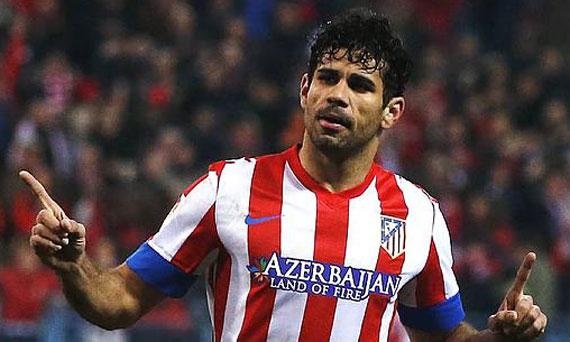 Chelsea: Arriva Diego Costa dall'Atletico Madrid per 40 milioni di euro
