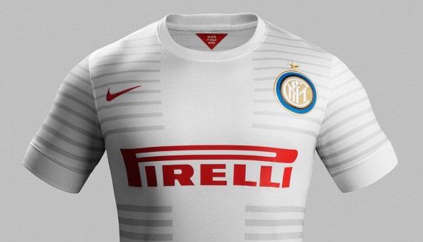 Serie a, inter: seconda maglia trasferta 2015