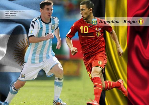 Mondiali 2014, Argentina-Belgio: Messi contro Courtois