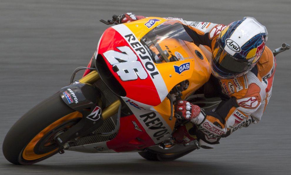 MotoGP Malesia: Pedrosa in pole, scintille Rossi-Lorenzo