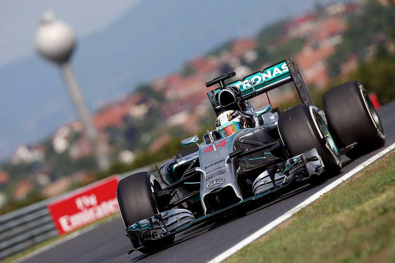 GP Ungheria, ancora Hamilton. Ma Rosberg c'è