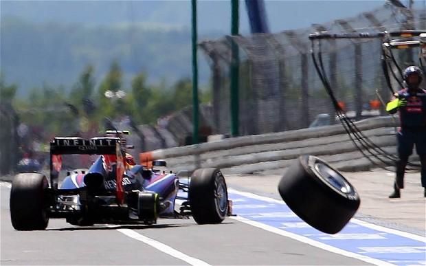 F1, le sanzioni per gli incidenti ai box cambieranno