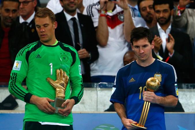 Mondiali 2014, Argentina: Messi vince il Golden Ball