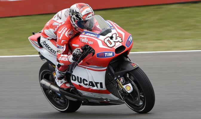 MotoGp, Dovizioso soddisfatto dei miglioramenti della Ducati
