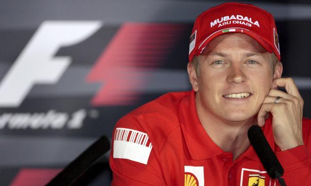 Raikkonen, Mattiacci è l'uomo giusto per la Ferrari