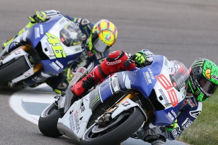 Yamaha, a Silverstone Rossi e Lorenzo puntano in alto